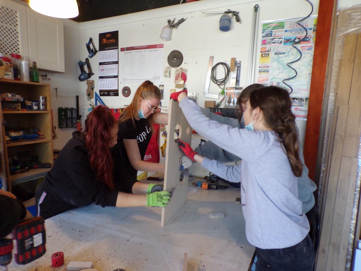 Projektowe działania młodzieży