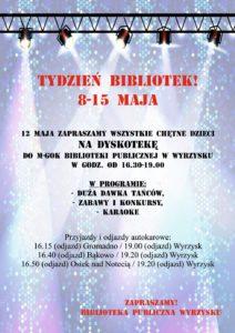 Dyskoteka dla dzieci @ Biblioteka Wyrzysk | Wyrzysk | wielkopolskie | Polska