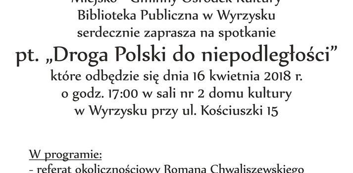 Plakat Chwaliszewski