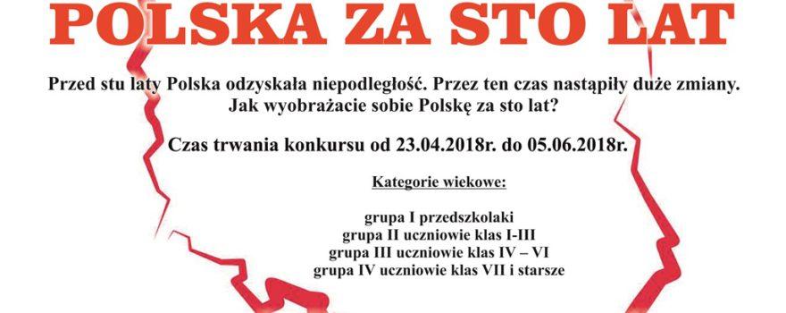 Konkurs POLSKA ZA STO LAT
