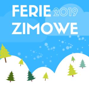 FERIE 2019 @ Filia Biblioteczna w Osieku nad Notecią