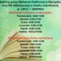 Biblioteka Publiczna w Wyrzysku Poniedziałek – 8:00 – 15:00 Wtorek – 9:00 – 17:00 Środa – 8:00 – 15:00 Czwartek – 8:00 – 15:00 Piątek – 8:00 – 15:00 Sobota – NIECZYNNE Filia Biblioteczna w Osieku nad Notecią Poniedziałek – 8:00 – 15:00 Wtorek – 8:00 – 15:00 Środa – 9:00 – 17:00 Czwartek – 8:00 – 15:00 Piątek – 8:00 – 15:00 Sobota – NIECZYNNE