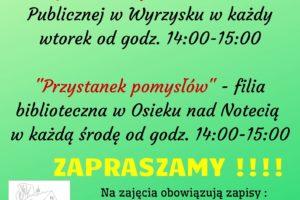 zajecia-pozalekcyjne - plakat